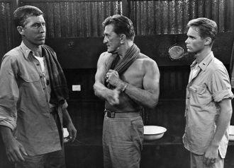 Patrick O'Neal, Kirk Douglas & Brandon deWilde