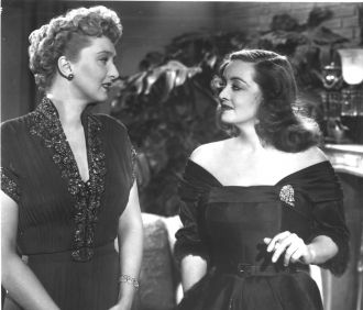 Celeste Holm and Bette Davis