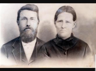 "Mary Ann ""Polly"" (Bull) Gann & William Vineyard Gann"