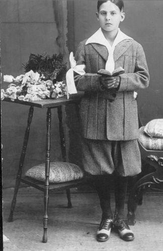Alfonso Gallo as a child