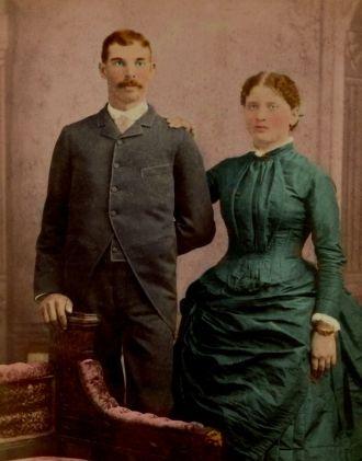 Joseph & Lillian nee Holmes Baughman