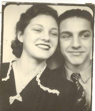 Lorraine and Sonny Lucas abt 1942