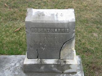 Robert P. Harris gravestone