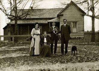 Family of Calvin Benton Hannah
