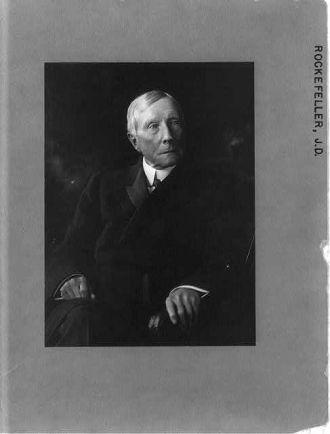[John Davison Rockefeller, 1839-1937, half-length...
