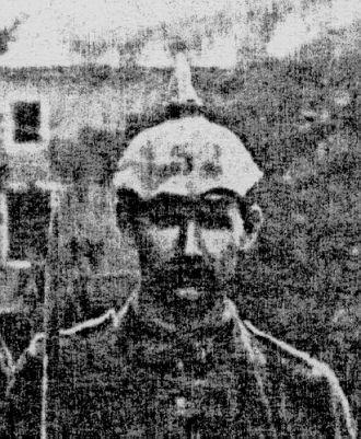 Anton Moser, WWI