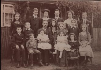 Daniel Tobin family, Hackbridge London
