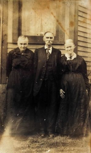 Leander Jarrell, Mary Margaret Crum, and Mary Jarrell