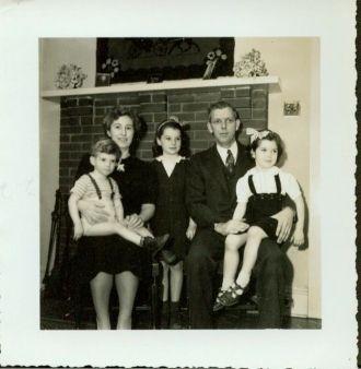 Harold Burke Family, 1950