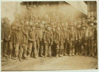 Breaker boys, PA Coal Company