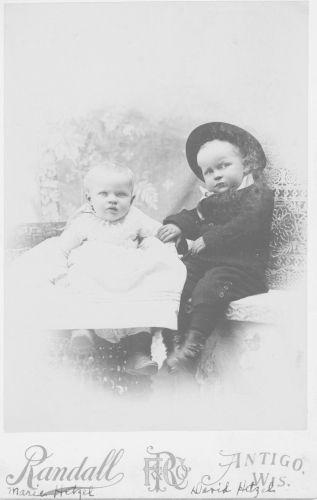 Marie & David Hetzel, Wisconsin 1893