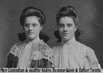 Mary and Audrey Cunningham, Canada