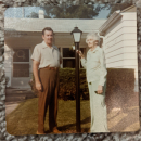 Norman Been and his mother Lura Roberts Been