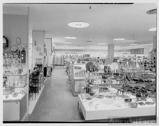 Gimbels, business in Valley Stream, Long Island. Housewares