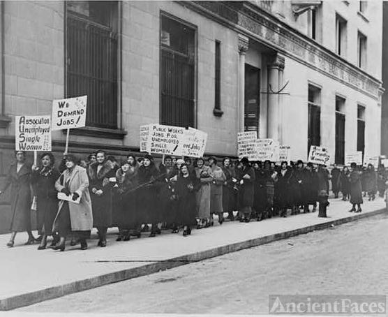 1933 New York protest