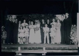 John and Marie  Wedding Day