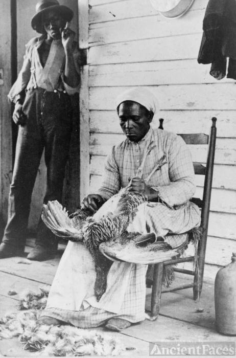 Thanksgiving Turkey, 1900