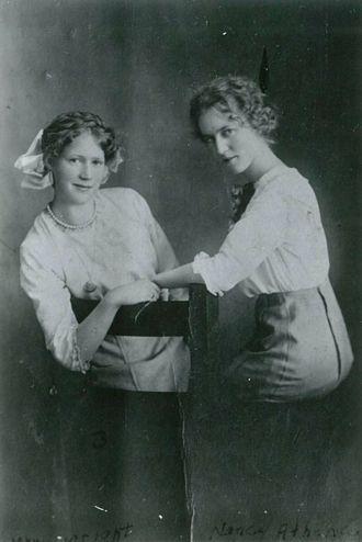 Mary Viola & Nancy Athena Porter