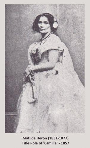 Matilda Heron 1857