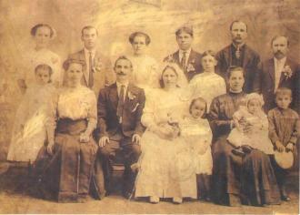 Maria (Matej) and John Bogdan Wedding