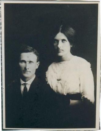Owen V.B. Vickers w/wife Ida Roberts