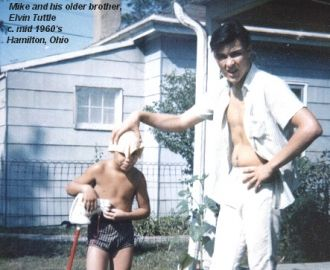 Mike and Elvin Tuttle