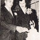 John Andersen and Mable Searles wedding day