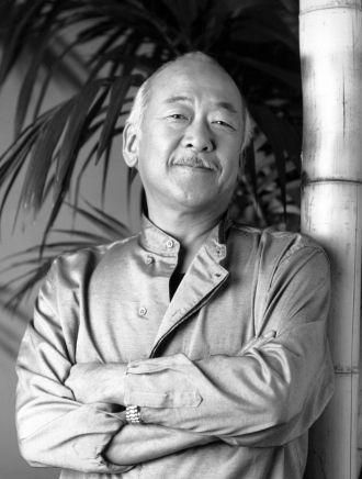 """A photo of Noriyuki """"Pat"""" Morita"""