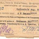 A W Henson Brakeman Certification