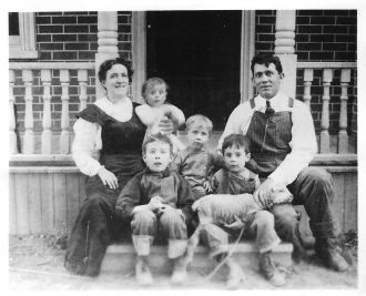 John and Florence Fechser's Family