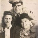 Dewey, Olen, and Mama Norris