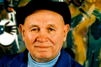 A photo of Romare H Bearden