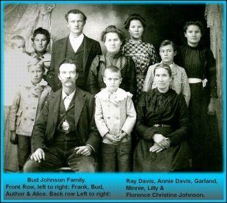 "Francis Samuel ""Bud"" Johnson Family"