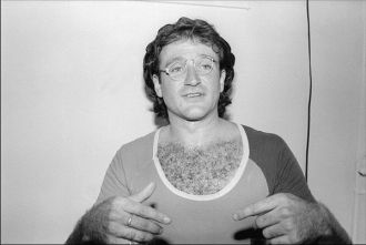 A photo of Robin Williams