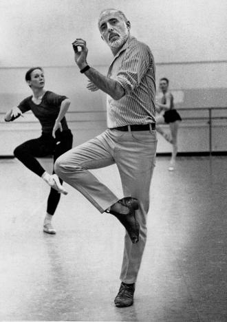 Jerome choreographing.