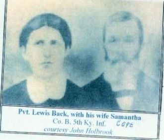 Lewis and Samantha Back