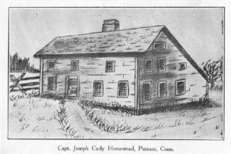 Home of Capt. Joseph Cady