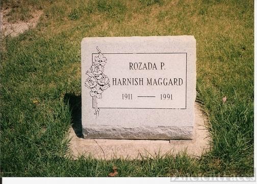 Rozada Pricilla Hough gravestone