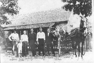 Alexander Bethel Chandler Family 1912