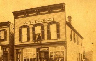 Becker Saloon, Illinois 1904