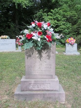 Homer Gene Sexton gravesite