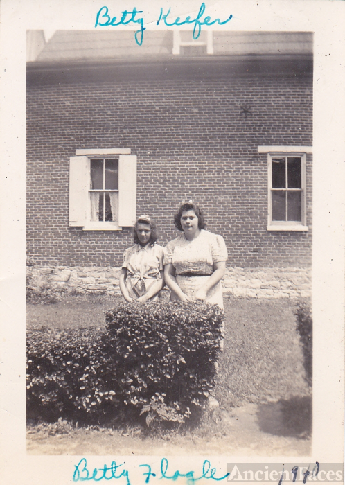 Betty Keefer and Betty Flagle