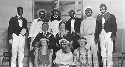 Mable Hanchett & a Minstral Troupe, 1924