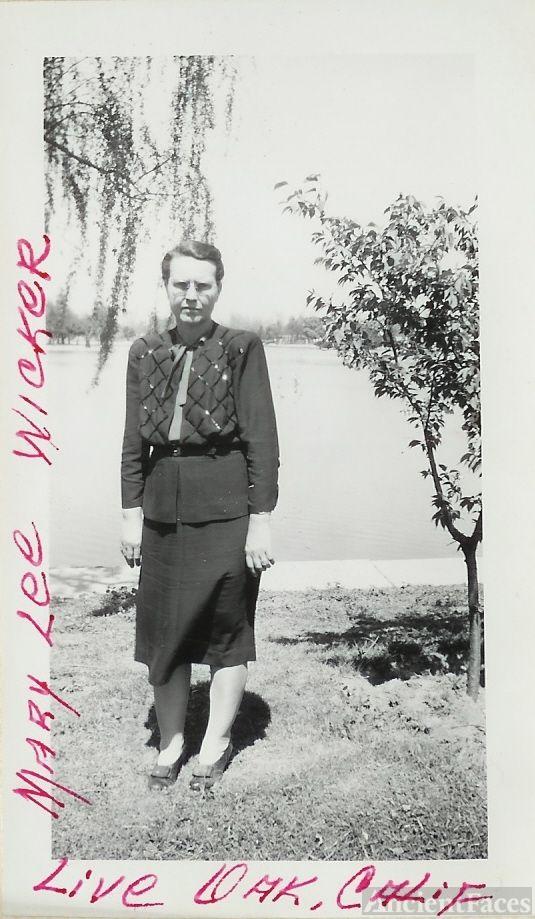 Mary Lee SANDIFER WICKER
