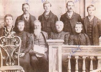 Hiram Osborn family 1890's