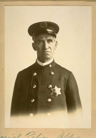Andrew Briggs San Francisco Policeman
