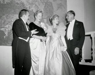 Prince Ranier, Princess Grace, Serge Obolensky