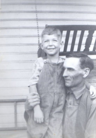 Norman with his father Jesse Been