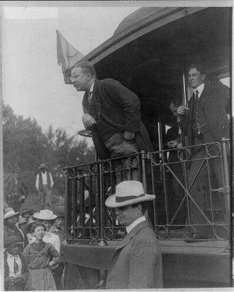 Teddy Roosevelt, 1907
