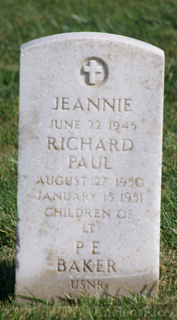 Jeannie Baker Tombstone